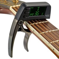 2- in- 1 Quick Change Key Guitar Capo Tuner Guitar Accessories...