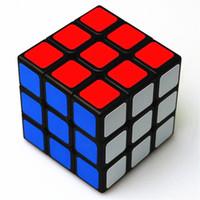 Klasik Oyuncaklar 3x3x3 ABS Sticker Blok Yüksek Kalite Hızlı Sihirli Küp Renkli LearningEducational Bulmaca Cubo Magico Oyuncaklar