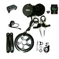 36V 500W 8Fun / Bafang BBS02 Crank Motor Eletric Biciclette Ebike Kit con 850C LCD