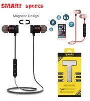 سماعات بلوتوث سماعات لاسلكية سماعات الرياضة الذكية M5 M9 سماعة ماجن ملابس يدريكة مع مايكروفون لتفاح اي فون 5S 6 6S 7 7Plus سامسونج هواوي Xiaomi