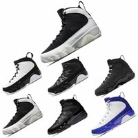 2018 Chpea Sale 9 Basketball Shoes Hombres 9s Blanco Negro Rojo OG Sports Sneakers High Quality Shoes Sneakers Talla 8-13