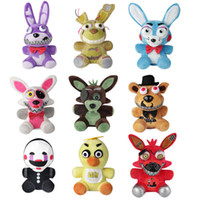 9Pcs NEW FNAF Five Nights at Freddy' s Chica Bonnie Foxy...