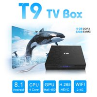 Android 8. 1 tv box 4GB 32GB T9 RK3328 QUAD core Android 8. 1 ...