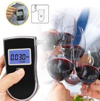 Probador de alcohol digital Pantalla LCD portátil Policía Alcohol alcoholímetro para analizador detector de alcohol
