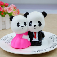 DHL Free Cute PU Squishy Super Slow Rising Jumbo Panda Squis...