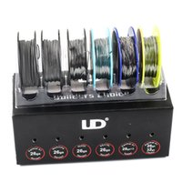 100% Original UD Wire Box with SS316L NI200 Nichrome KA1 6- I...