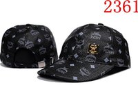 wholesale 2018 high quality brand design black snapback Caps...