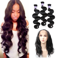 8A Grade Brazilian Virgin Hair Bundles Straight Hair Body Wa...