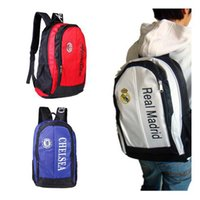 Real Madrid bags football soccer back pack outdoor sports ba...