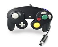 100 adet / grup Hızlı kargo Sıcak Satış 12 Renkler NGC GameCube Için Kablolu Game Controller Gamepad Joystick