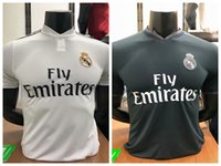 High quality Player version 2018 2019 Real madrid Soccer Jer...
