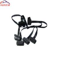 2015 Sıcak satış Yüksek Kalite 16 pin OBD M 2F Uzatma kablosu için 2 adet / grup ile düşük fiyat