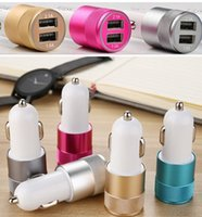 Best Metal Dual USB Port Car Charger Universal 12 Volt   1 ~...