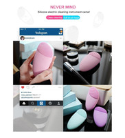 Tamax Sonic Facial Cleansing Brush, Silicone Vibrating Waterp...
