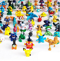 144 pcs Action Figures Cartoon Monster Small Animals Images ...