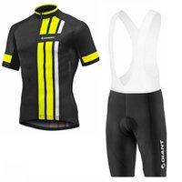 자이언트 사이클링 저지 세트 여름 짧은 소매 통기성 Maillot Ropa Ciclismo MTB 자전거 운동복 산악 자전거 의류 031809