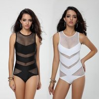 Women One- Piece Yarn Mesh Swimsuit Bikini Summer Bathing Sui...