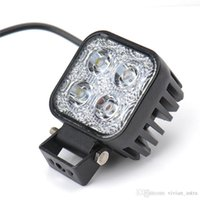 1 PZ 12W Auto LED Light Light Offroad Lavoro Light Bar per Jeep 4x4 4WD AWD SUV ATV Golf Cart 12V 24V Lampada da guida Motociclistica Fendinebbia