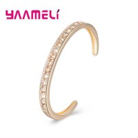 YAAMELI Classical Sparking Extravagant Round Shape Cubic Zir...