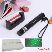 laser pointer 303 DC3. 7V outdoor flashlight with rechargable...