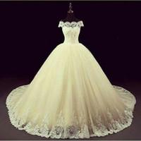Image réelle a déclaré Mhamad 2019 modeste robes de mariée arabe Dubaï mariée robes de robe de bal vintage robe de mariée meunement robes de mariée enceintes