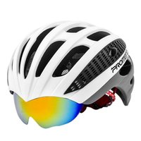 PROMEND Cycling Goggles Helmet Ultralight Integrally- molded ...