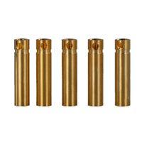 Hihg الجودة 50 قطعة / مجموعة 4.0 ملليمتر 4 ملليمتر rc بطارية مطلية بالذهب رصاصة موصل موصل مطلية بالذهب الموز التوصيل