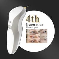 4TH القلم البلازما اللون الرمادي مع 30 الإبر جفن مجانا رفع تجاعيد الجلد رفع تشديد المضادة للتجاعيد القلم البلازما آلة مزيل الخلد