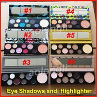 Makeup Girls Collection eyeshadow and Highlighter palette 6 ...