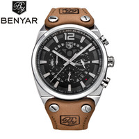Men' s luxury quartz sport watch 24 Hours analog skeleto...