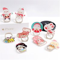 Christmas Ring Phone Holders Santa Cartoon Cell Phone Mounts...