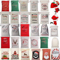 New 26 colors Christmas Bags Large Organic Heavy Canvas Bag ...