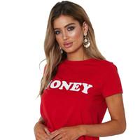 المرأة بلوزة blusa المرأة القميص عادية قصيرة الأكمام الزى القطن تي شيرت 2018 جديد أزياء عسل إلكتروني طباعة قميص قمم
