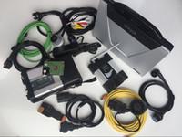 SD Collegamento C4 ISTA ICOM ICOM Next WiFi per BMW Diagnostic Tool Programmer Scanner con 2in1 HDD 1TB Computer portatili usati CF52