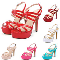 Fashion Platform Sandals Designer Women Shoes Thin High Heel...