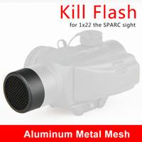 Nuovo Arrivo Metal Mesh Scope Protector Colore nero per Vortx Sparc Sight Utilizzare CL33-0085