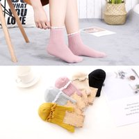 Women Autumn Winter Socks Cotton Solid Pink Yoga Gym Fitness...