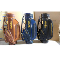2018 Laster High- grade leather woven golf bag golf Honma gol...