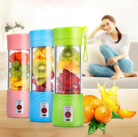 380 ml USB Exprimidor Juicer Bottle Juice Juice Citrus Blender Lemon vegetales fruta Batido Batido Exprimidores Escariadores Botella
