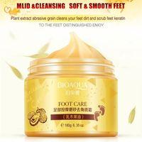 Bioaqua Foot Massage Scrub Exfoliating Cream Repai Pelle ruvida Piedi idratatii Idratante Piedi idratativi Crema di cura 180g