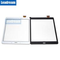 Планшетный ПК с сенсорным экраном дигитайзер стеклянный объектив с лентой для Samsung Galaxy Tab 9,7 T550 бесплатно DHL