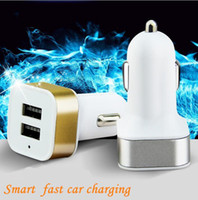 Car Charger Aluminum Cycle 5V 2A 2 USB Dual port Auto Power ...