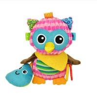 1 pcs Sozzy Multifuncional Brinquedos Do Bebê Chocalhos Mobiles de Algodão Macio Carrinho de Bebê Carrinho De Criança Carrinho De Bebê De Pelúcia Chocalhos Pendurado Animal Brinquedos De Pelúcia