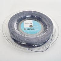 Хорошее качество Большой Banger Polyester Luxilon Tennis String Ruel 200M Полиэстер 660FT Серый Цвет