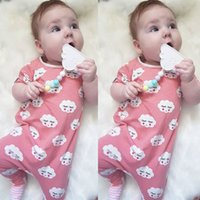 Newborn Infant Baby Kids Boy Girl Summer Clothing Jumpsuit T...