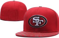 National Team Fitted San Francisco SF hats Baseball Embroide...