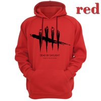 Dead By Daylight Men Hoodies Sudaderas Juego Anime Day Light Death Computadora Prendas de abrigo Sudadera Casual Apparel Videojuego