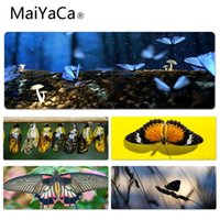 MaiYaCa Cool New Butterfly Valley Keyboard Gaming MousePads ...