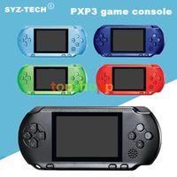 Neue Ankunft Spiel Player PXP3 (16Bit) 2,6 Zoll LCD-Bildschirm Handheld-Videospiel-Spieler-Konsole 5 Farben Mini Portable Spiel