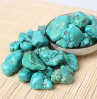 Venta al por mayor 200g a granel grande caído Stone turquesa Crystal Healing Reiki Mineral